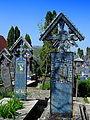 Rumunia, Sapanta, Wesoły Cmentarz - 28 IV 2012 r..JPG