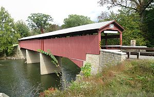 Rupert Covered Bridge No. 56 - The bridge in September 2012