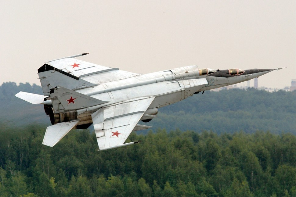 Mikoyan-Gurevich MiG-25 - Howling Pixel
