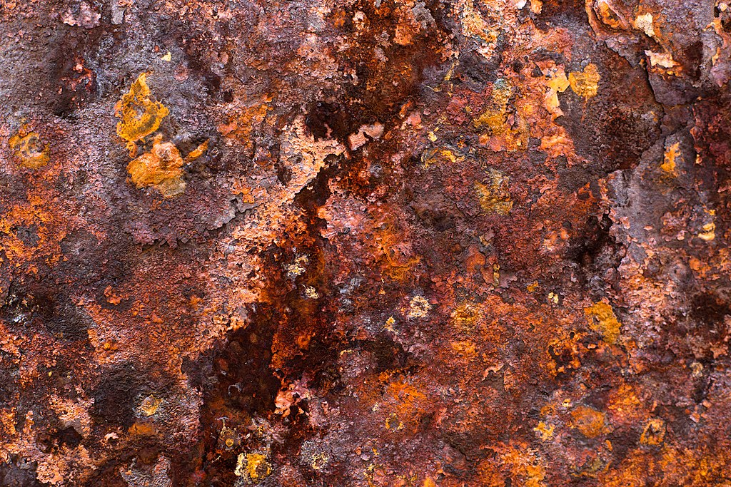 Rusting of Iron Reaction Rust on Iron Photo by Laitr