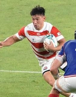 Ryoto Nakamura Japanese rugby union footballer