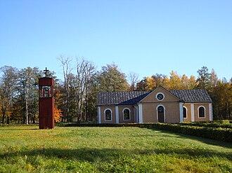 Sätra brunn - Sätra Brunn Church in October 2008