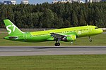 S7 Airlines, VP-BCP, Airbus A320-214 (44258200522).jpg