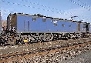 South African Class 11E - Image: SAR Class 11E 11 042