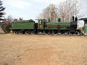 South African type XE1 tender - Image: SAR Class 6 432 (4 6 0) ex CGR 356 OVGS 61 CSAR 337