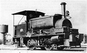 South African Dock Shunter 0-4-0ST - Image: SAR Harbour (0 4 0ST) Thebus
