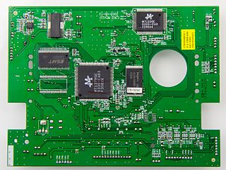 Printed circuit board Board to support and connect electronic components