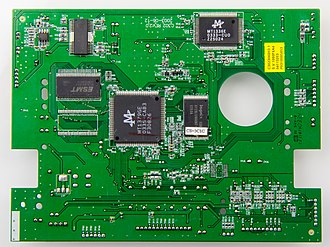 Photoresist - A printed circuit board-4276
