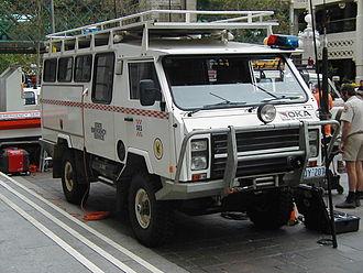 State Emergency Service - Image: SESWA OKA 4WD