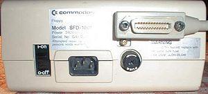IEEE-488 - Image: SFD1001 back
