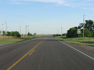 Oklahoma State Highway 6 - SH-6 south of Granite