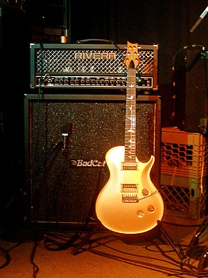 PRS Guitars - Steven Wilson's gold guitar.