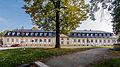 """Saalfeld Schloßstraße 22 Ehem. Marstall Bestandteil Sachgesamtheit """"Schloss und Park Saalfeld-Saale"""".jpg"""