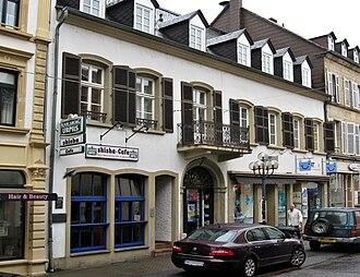 Paul von Lettow-Vorbeck - Birth house in Saarlouis
