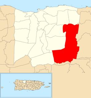 Sabana Hoyos, Arecibo, Puerto Rico Barrio of Puerto Rico