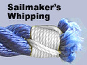 Rope splicing wikivividly whipping knot sailmakers whipping fandeluxe Gallery