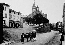 Saint-Forgeux in the early 20th century