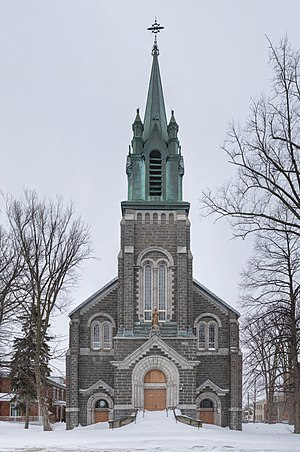 Saint-François d'Assise church, Limoilou, Québec city, Quebec State, Canadá