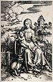 Saint Mary (the Blessed Virgin) with the Christ Child. Engra Wellcome V0033843.jpg