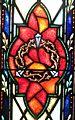 Saints Peter and Paul Roman Catholic Church (Sandusky, Ohio) - stained glass, nails & crown of thorns.JPG