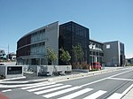 Saitama City Fire Department Midori fire station & Saitama City Omagi community center.JPG