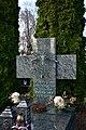 Salwator Cemetery, grave of Bronislaw Chromy (Polish sculptor), Waszyngtona Avenue, Kraków, Poland.jpg