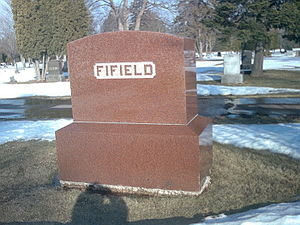 Sam Fifield - Sam Fifield is buried next to his wife, Stella, at Mount Hope Cemetery in Ashland.