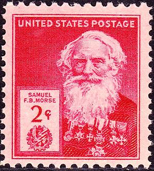 English: Samuel_FB_Morse_1940_Issue-2c.jpg Pos...