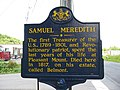 Samuel Meredith Sign at Belmont Corners, Pennsylvania.jpg