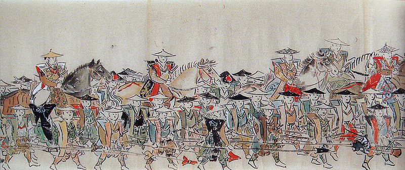 ファイル:Samurai troops in the Second Choshu expedition.jpg