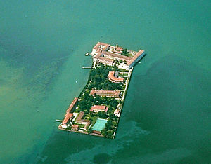 San Servolo - Aerial view of San Servolo