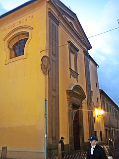 Santi Vicenzo e Caterina de Ricci, Prato Church in Italy