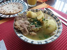 Sancocho de espinazo de cerdo (Pork spine sancocho) from Colombia