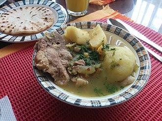 Sancocho - Sancocho de espinazo de cerdo (Pork spine sancocho) from Colombia