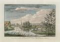 Sanderumgaard 12 of 12 Udsigt i Hauge koloreret 1803 Clemens.png