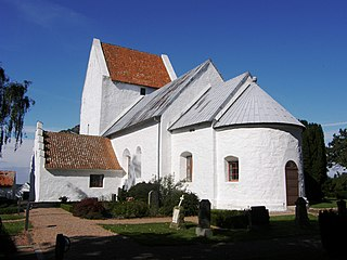 St. Ibs Church church building in Bornholm Regional Municipality, Denmark