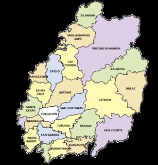 Geography Of Santa Maria Bulacan Wikipedia - Marilao map