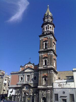 Facciata della Basilica col Campanile