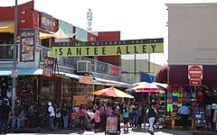 Santee alley los angeles