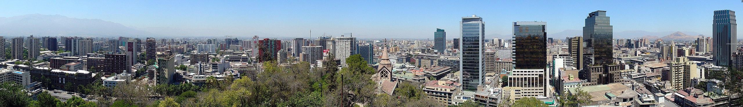 Santiago de chile travel guide at wikivoyage for Construccion de piscinas santiago chile