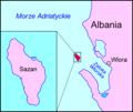 Sazani map PL.png