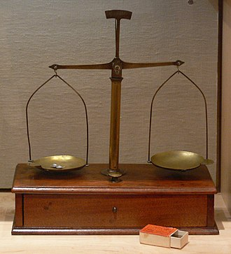 Marianne Cope - Scales used by Mother Marianne Cope and the Sisters to measure medicine, Kalaupapa, Hawaii, late 1880s