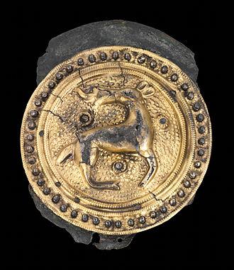 Tangendorf disc brooch - Image: Scheibenfibel von Tangendorf