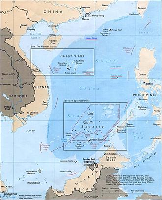 South China Sea Islands - South China Sea