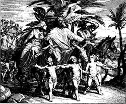 Schnorr von Carolsfeld Bibel in Bildern 1860 022