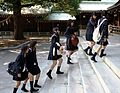 School girls at Meiji-jingu, Shibuya 2.jpg
