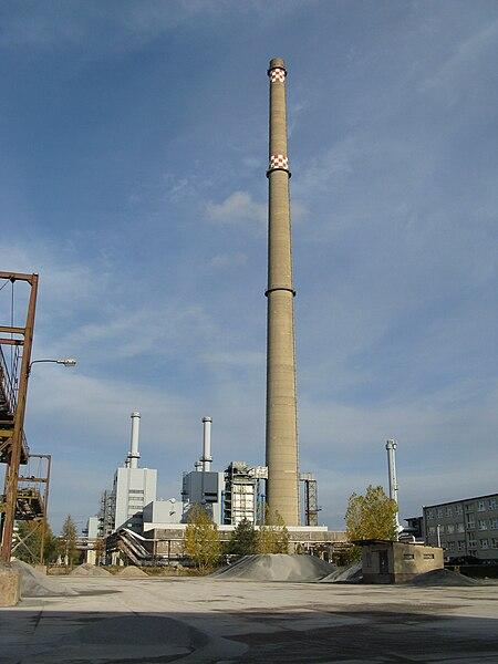 File:Schwerin Wuestmark Heizkraftwerk Schwerin-Sued.JPG