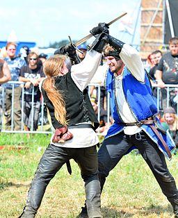 Schwert und Schwertkampf lernen in der Schwertkampfschule