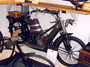 The Scott Motorcycle Company - 1913 Scott 550 cc