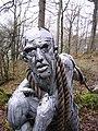 Sculpture, Bogel Wood - geograph.org.uk - 346759.jpg